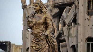 Photo of تماثيل دمرها تنظيم داعش تعود إلى قلب الموصل مجددًا