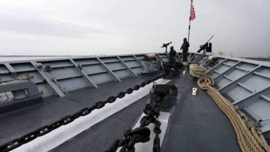 Photo of إصابة بحار على متن سفينة حربية أمريكية بفيروس كورونا