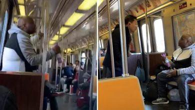 """Photo of فيديو صادم.. أمريكي يتصرف بـ""""عنصرية""""خوفًا من كورونا"""