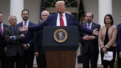 Photo of ترامب يعلن حالة الطوارئ الوطنية لمواجهة كورونا