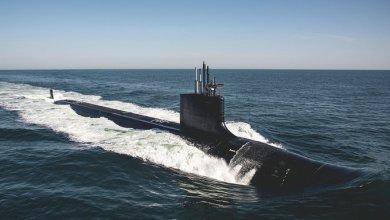 Photo of البحرية الأمريكية تطلق غواصة هجومية وكورونا يلغي الحفل