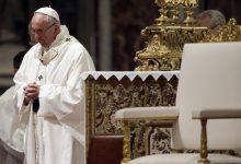 Photo of لأول مرة.. بابا الفاتيكان يقود قداس عيد الفصح دون مصلين