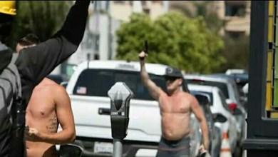 Photo of القبض على رجل أشهر السلاح في وجه المحتجين بكاليفورنيا