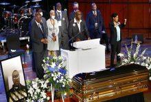 "Photo of بدء مراسم تأبين ""جورج فلويد"" في مينيابوليس"