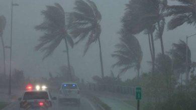 """Photo of المركز الوطني للأعاصير يحذر من عاصفة """"كريستوبال"""""""