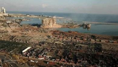 Photo of انفجار بيروت- 100 قتيل و4000 مصاب و300 ألف مشرد و5 مليارات دولار خسائر