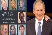 "Photo of ""جورج بوش الابن"" يشيد بالمهاجرين في كتاب جديد"
