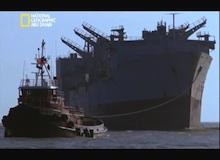 تفكيك هياكل عملاقة : ناقلة البحرية