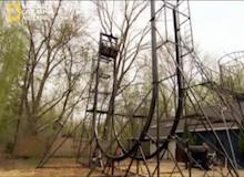 العلماء المجانين : سهم الحديقة الذي طوله 26 قدم