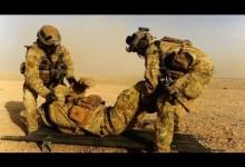 صورة عمليات الانقاذ في الحروب : في قلب النار