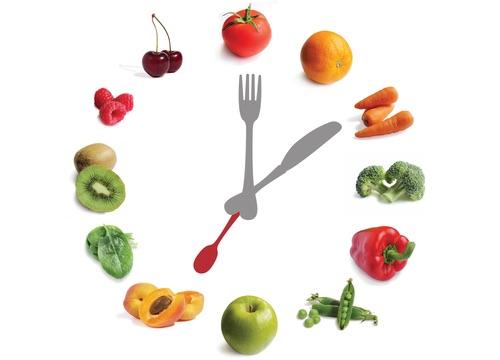 تناول الطعام في أوقات محددة وثابتة