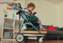 مقتطف : كرسي متحرك ذكي لخدمة الأطفال ذوي الاحتياجات الخاصة