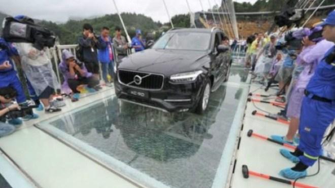 عبرت سيارة الجسر لطمأنة الجمهور بشأن سلامته