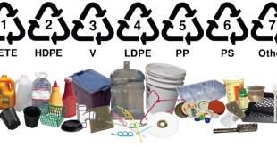 مقال - ماذا يعني الرقم الموجود في المثلث على علب البلاستيك ؟