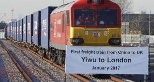 مقتطف - وصول أول قطار بضائع يربط بين الصين و بريطانيا