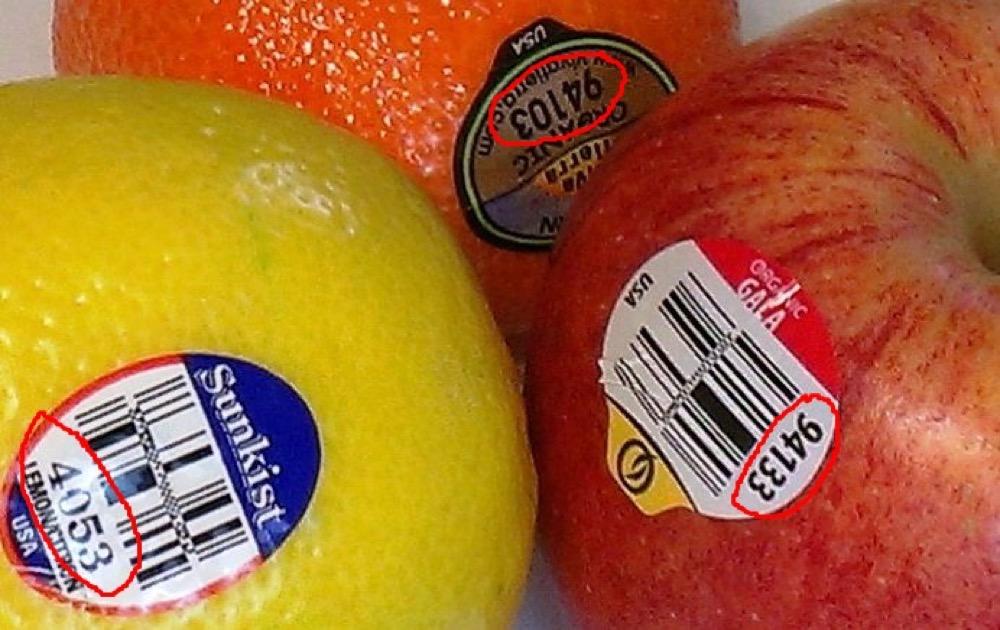 مقال - ماذا تعني الملصقات الصغيرة على الخضروات والفواكه؟ - موقع علوم العرب
