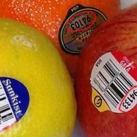 مقال - ماذا تعني الملصقات الصغيرة على الخضروات والفواكه؟