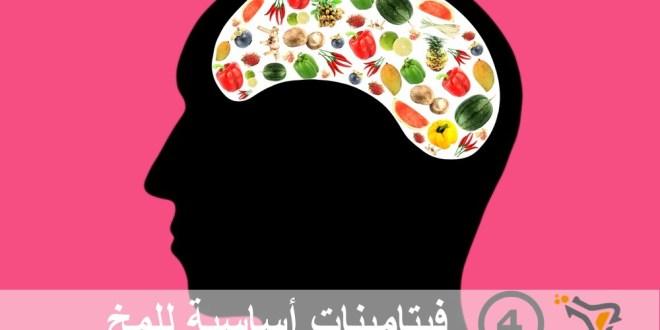 مقال : 4 فيتامينات أساسية للمخ
