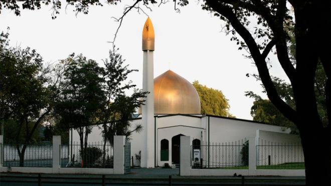 مسجد النور بمدينة كرايست تشيرتش