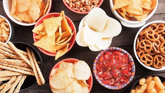 الأطعمة التي تحتوي على مستويات عالية من الملح