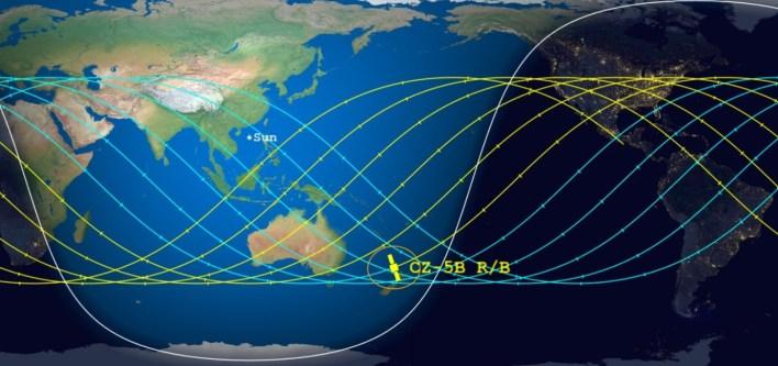 أين ومتى سيسقط الصاروخ الصيني؟