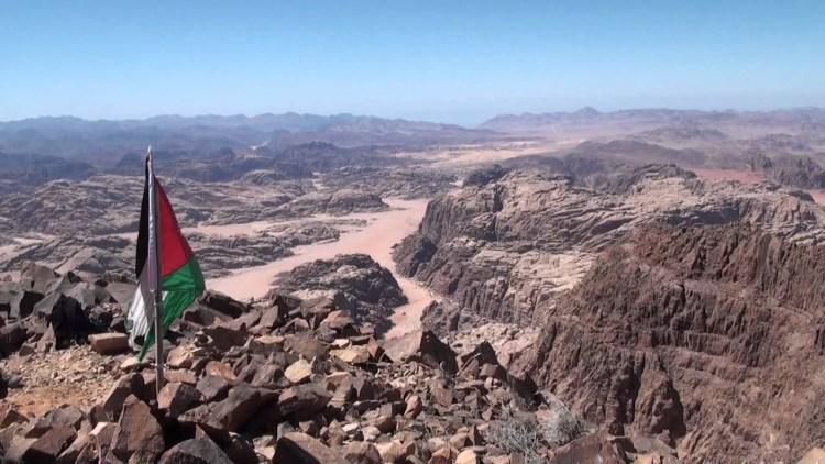 The highest mountainous heights in Jordan