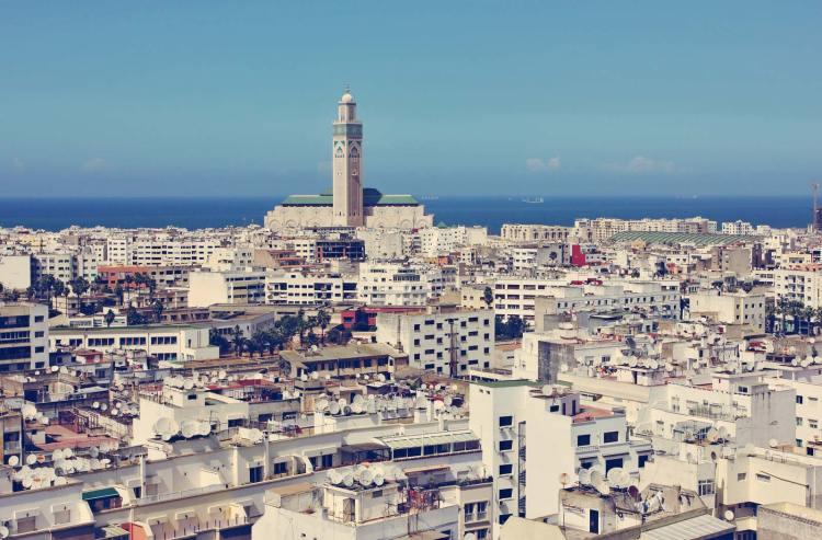 Casablanca City-Morocco