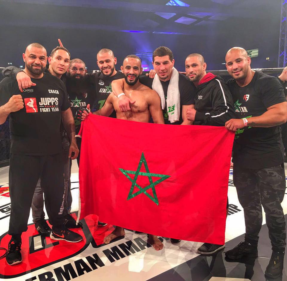 Ottman Azaitar MMA Fighter Morocco