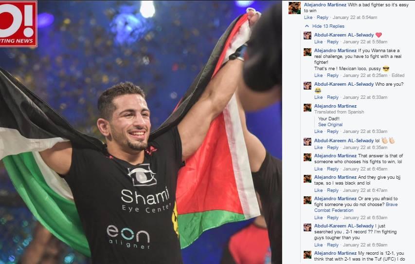 Abdulkareem Al Selwady X Alejandro Martinez Facebook Conversation (Part 1)