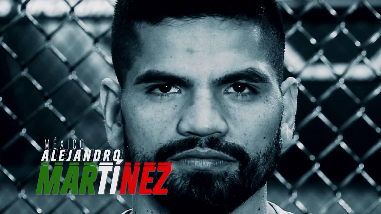 TUF LATIN AMERICA fighter Alejandro Martinez