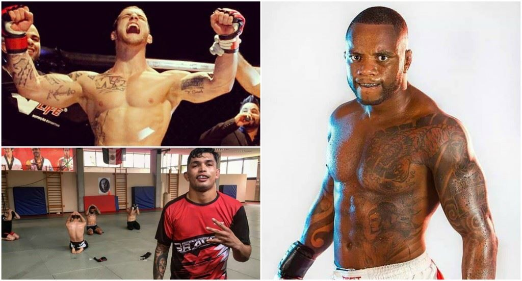 3 ufc fighters