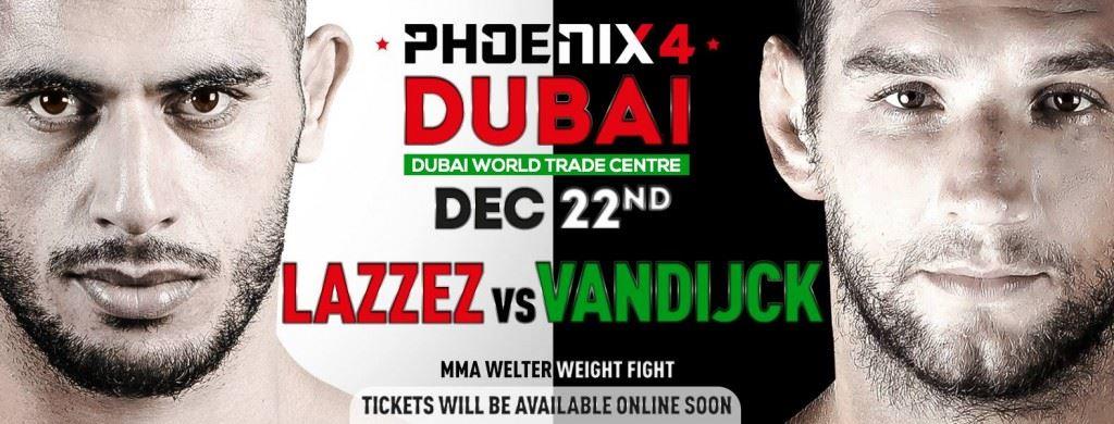 mounir lazzez vs. Christophe Van Dijck Phoenix 4