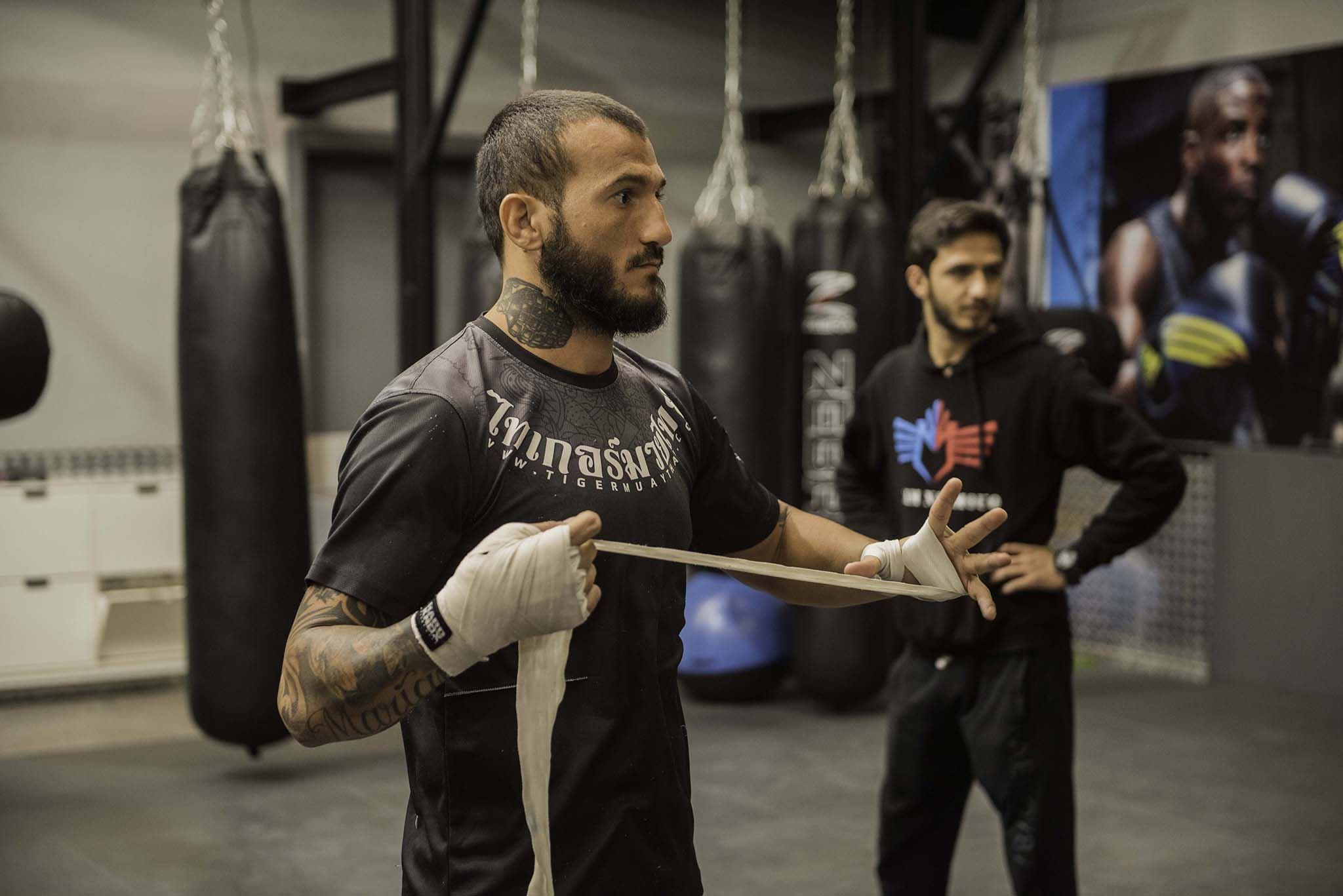 Azaitar khalid UFC Fight