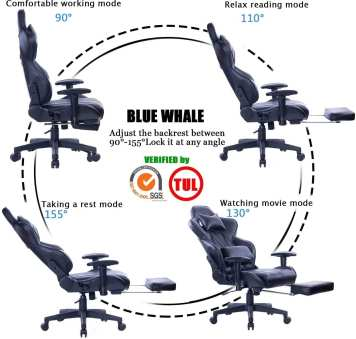 Blue Whale Gaming Chair