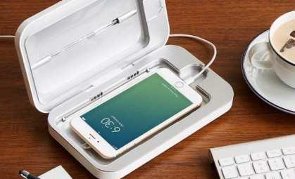 PhoneSoap-3-UV جهاز تعقيم الموبايل