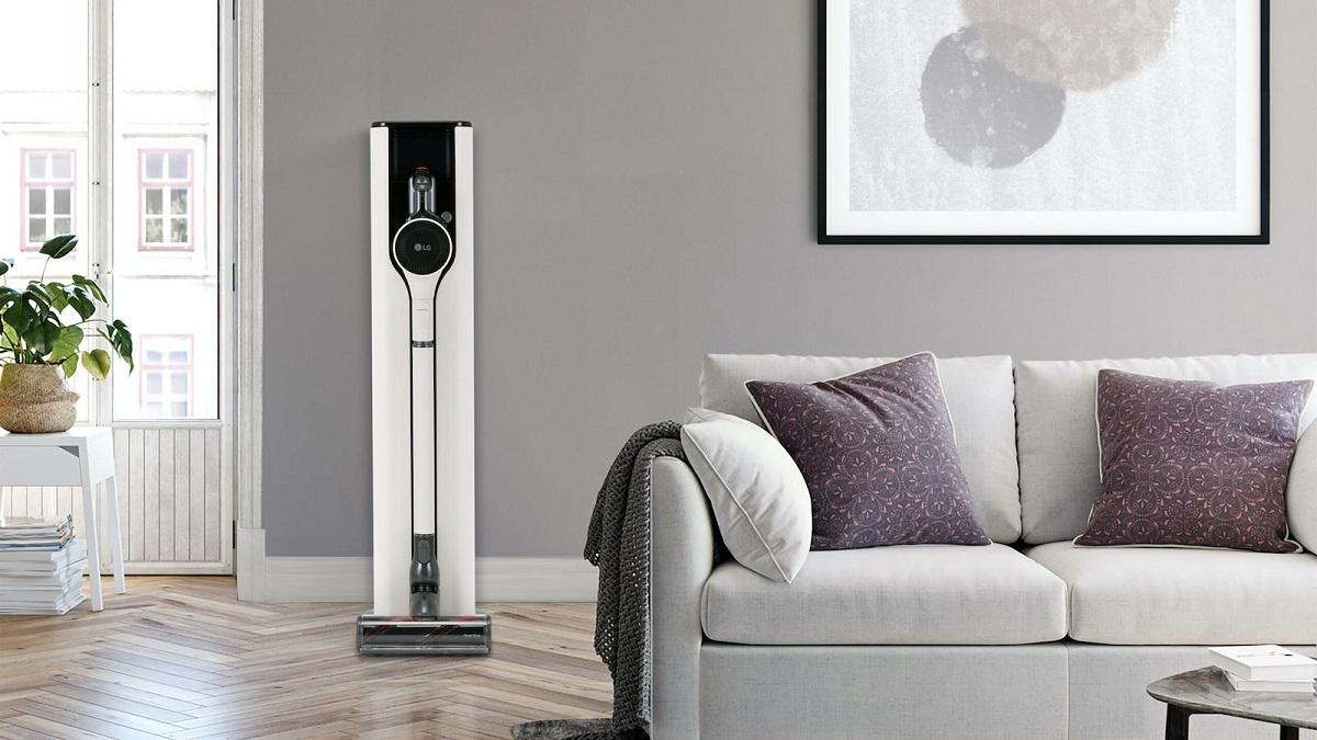 المكنسة الذكية: إضافة مميزة لقائمة أجهزة المنازل الذكية من LG في معرض CES 2021