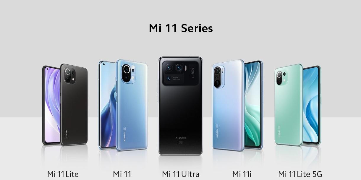 سلسلة هواتف شاومي الجديدة Mi 11 وما تقدمه من مواصفات قوية