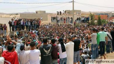 صورة إضراب في مواقع لإنتاج النفط جنوب تونس