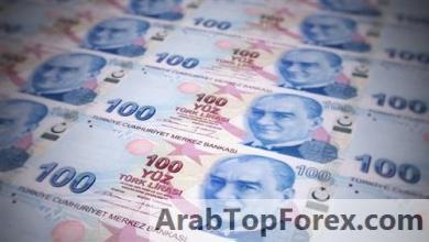 صورة انخفاض الليرة التركية لأدنى مستوى