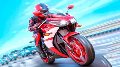 لعبة سباق الدراجات النارية
