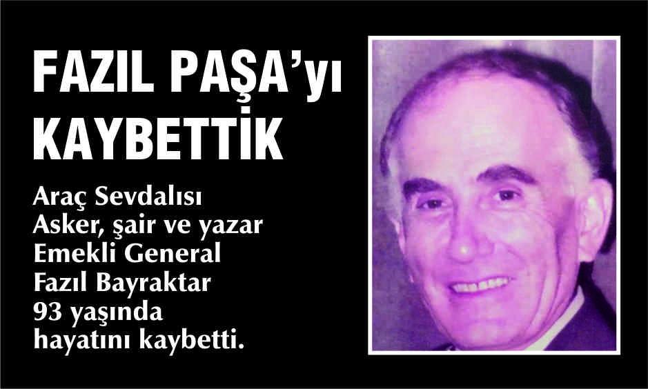 FAZIL BAYRAKTAR VEFAT ETTİ