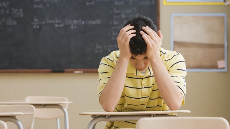 الخوف من الامتحانات