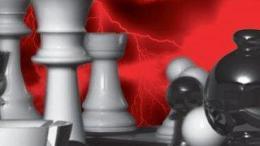 أحجار على رقعة الشطرنج