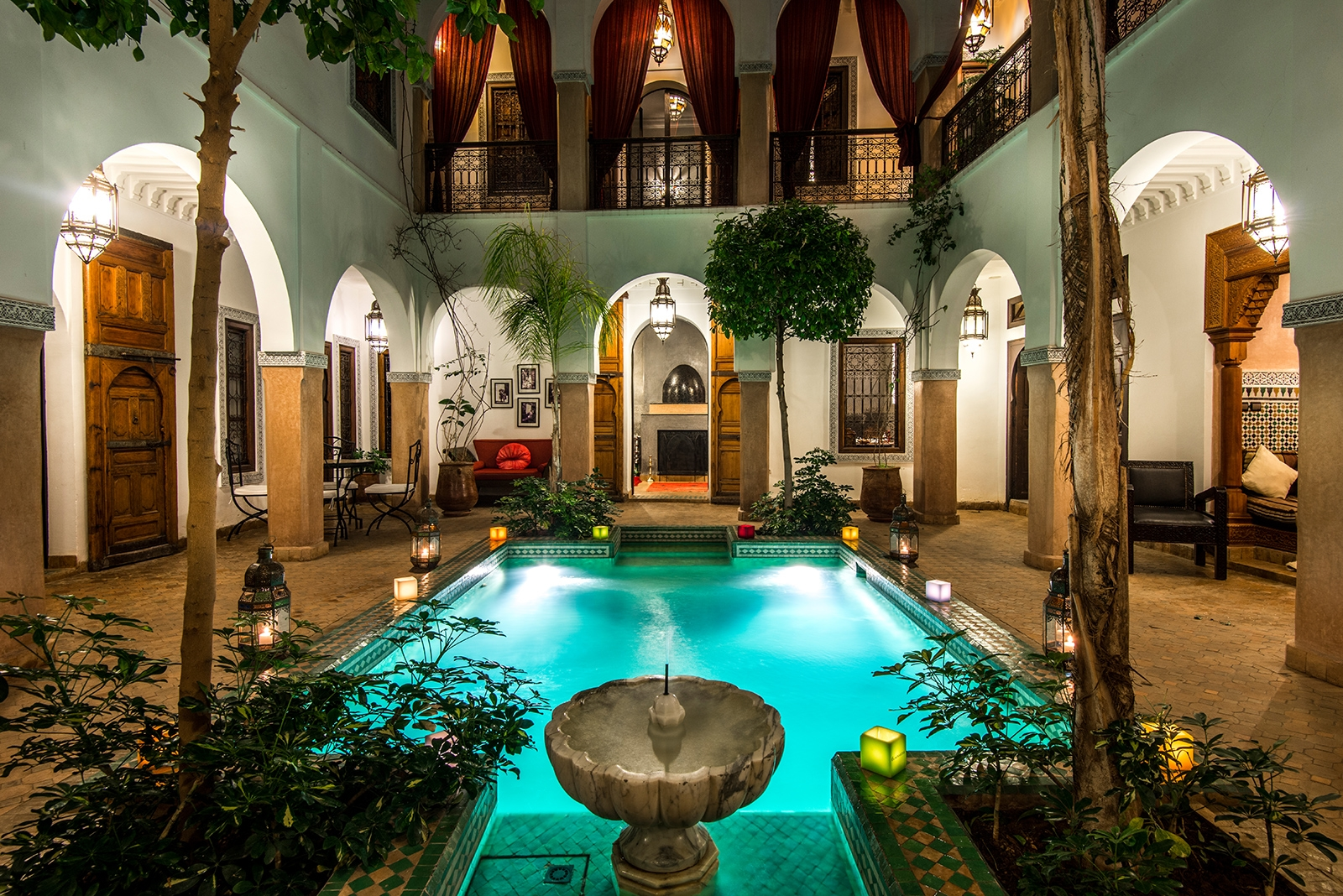 The Amazing Moroccan Riad MARIA ARAGHOUNA