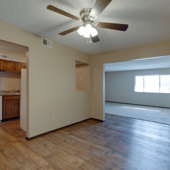 Aragon Apartments, 2 Bedroom, Dining Room, Kitchen