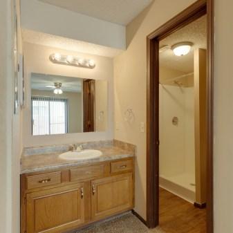 Aragon Apartments, 2 Bedroom, Master Bathroom