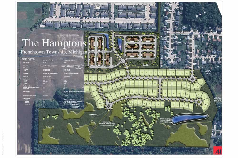 Frenchtown Site Plan