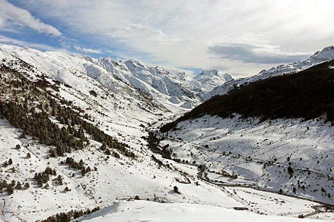 GR 11, valle de la Guarrinza