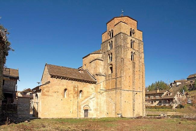 Ruta del Santo Grial en Huesca, Santa María, Santa Cruz de la Serós