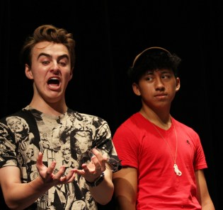 Joey & Eddie-rehearsal